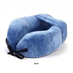 Traveller Discovery Adventures Travel U Shaped Neck Pillow - Blue