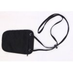 Discovery Adventures RFID Blocking Neck Pouch - Black