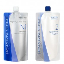 Shiseido Professional Crystallizing Straight N1 + Neutralizing Emulsion 2