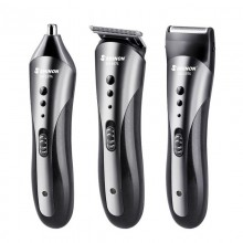 (Similar with KEMEI Wireless Hair Clipper) Shinon All 3 in 1 Rechargeable Hair Clipper for Men