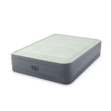 Intex Queen Premaire I Elevated Airbed with 220 - 240V Built-In Pump (152 CM x 203 CM x 46 CM)