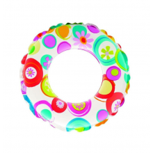 Intex Lively Print Ring 51cm - Flower