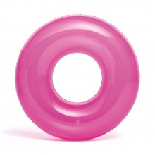 Intex 76 cm Transparent Tube - Pink