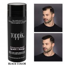 Toppik Hair Building Fibers (27.5gm)-BLACK color
