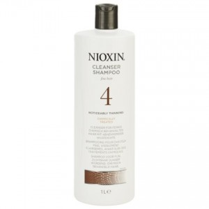 Nioxin System 4 Shampoo 1000ml Noticeably Thinning/Chemically Treated Hair
