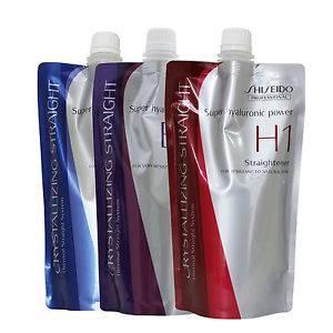 Shiseido Professional Crystallizing Straight EX1 + 2 Hair Straightening Cream