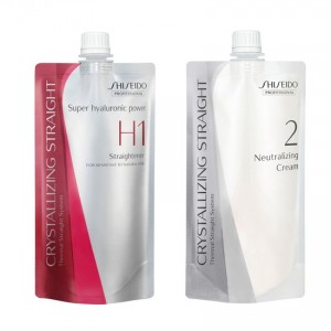 Shiseido Professional Crystallizing Straight H1 + 2 Hair Straightening Cream