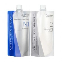 Shiseido Professional Crystallizing Straight N1 + 2 Hair Straightening Cream