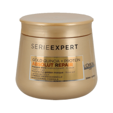 L'Oreal Professionnel Serie Expert Gold Quinoa + Protein Absolut Repair Masque (250ml) - NEW