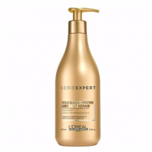 L'Oreal Absolut Repair Gold Quinoa + Protein Shampoo 500ml (New!)