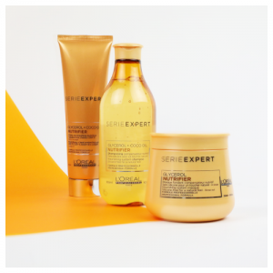 L'Oreal Professionnel Serie Expert GLycerol + Coco Oil Nutrifier Blow-dry Cream Leave In - 150ml