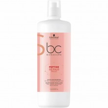 Schwarzkopf BC Peptide Repair Rescue Micellar Shampoo - 1000ml (Latest Packaging)